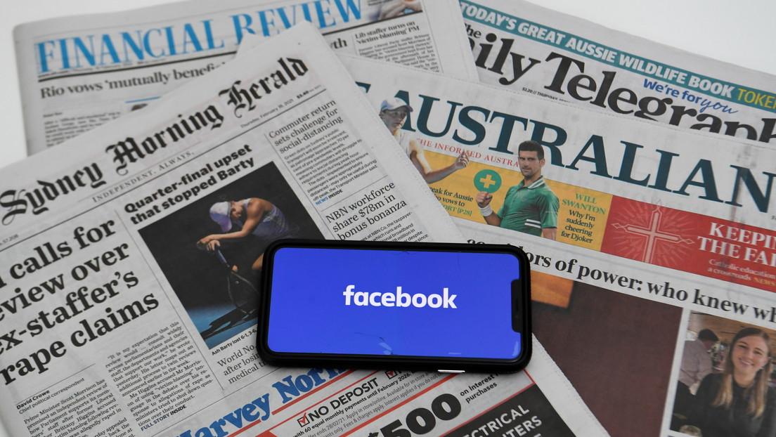 """""""Nos 'agregaron' de nuevo"""": Australia dice que Facebook ha vuelto a entablar negociaciones tras bloquear las noticias"""
