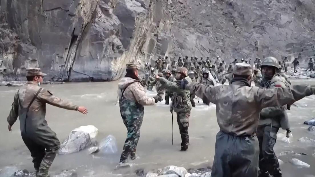 VIDEO: China publica una nueva grabación del enfrentamiento con militares indios en el Himalaya ocurrido en junio pasado