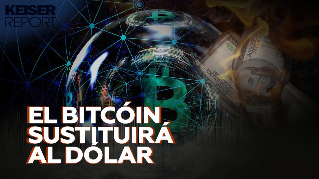 """""""El bitcóin es un superdepredador que vive en un océano plagado de pececillos de colores, que representan al dólar"""""""