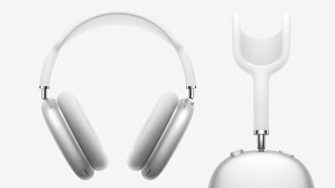 Apple registra una patente que describe unos AirPods Max con vidrio en lugar de aluminio