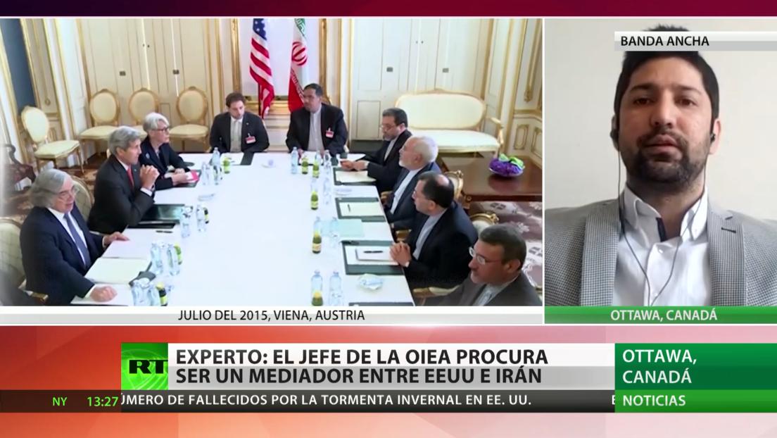 Experto: El director de la OIEA procura ser un mediador entre EE.UU. e Irán