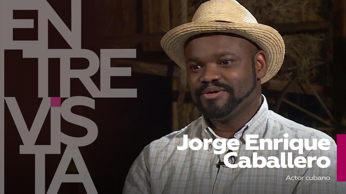 """El actor cubano Jorge Enrique Caballero: """"Mi deber es hablar desde el arte sobre la problemática racial en Cuba"""""""