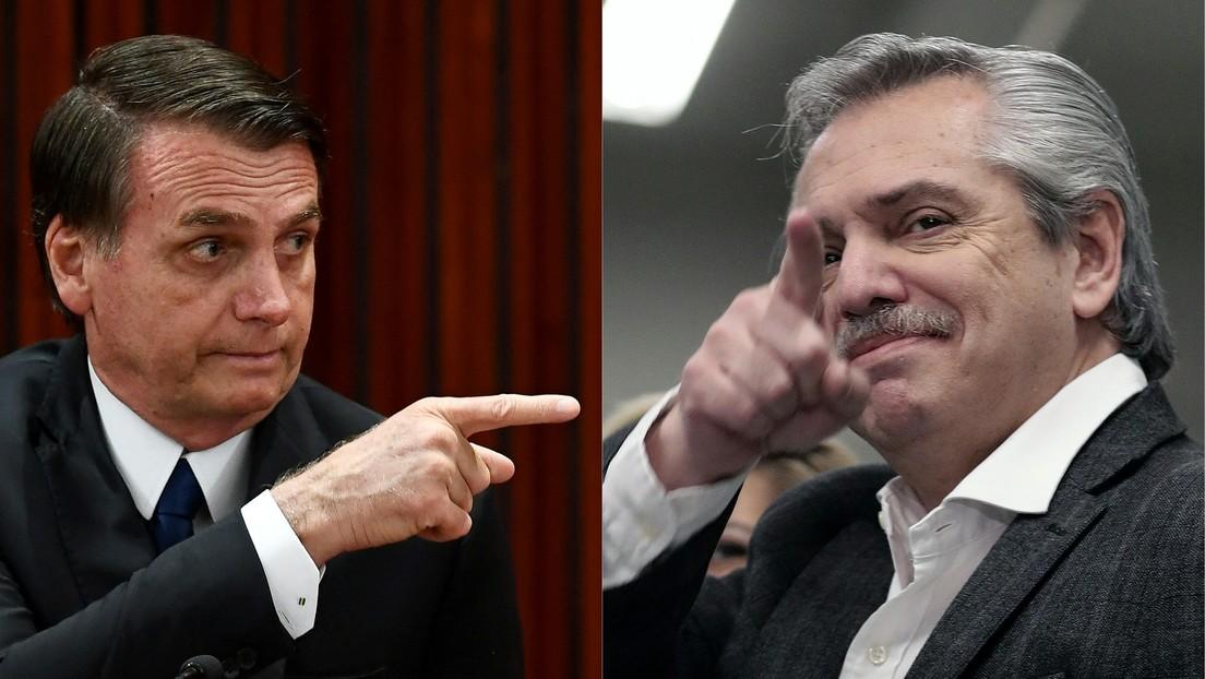 """""""Epidemia de desilusión"""": Bolsonaro comparte un artículo sobre el éxodo de la clase media alta argentina y eleva la tensión con Fernández"""