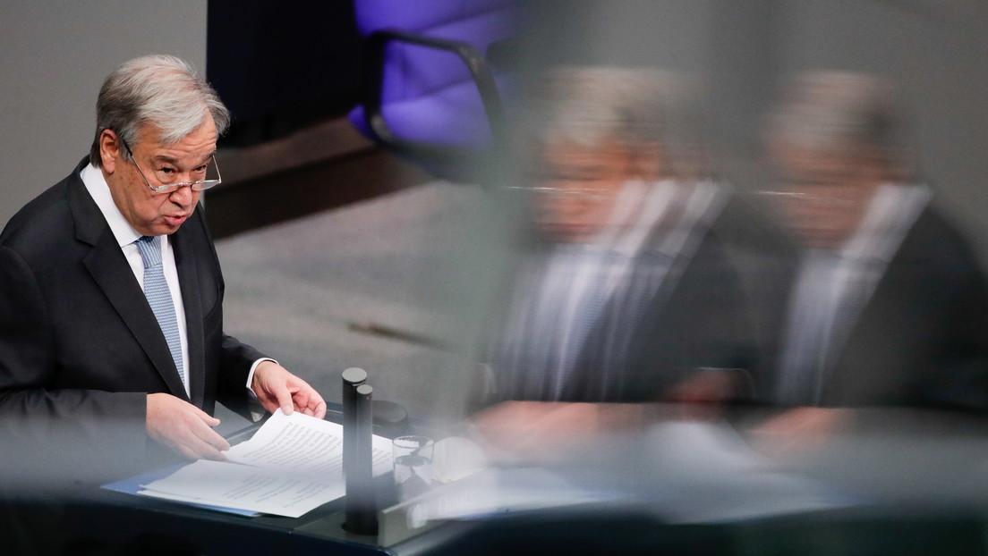 """António Guterres califica los movimientos nazis y de supremacía blanca como una """"amenaza transnacional"""" que se vuelve más peligrosa cada día"""