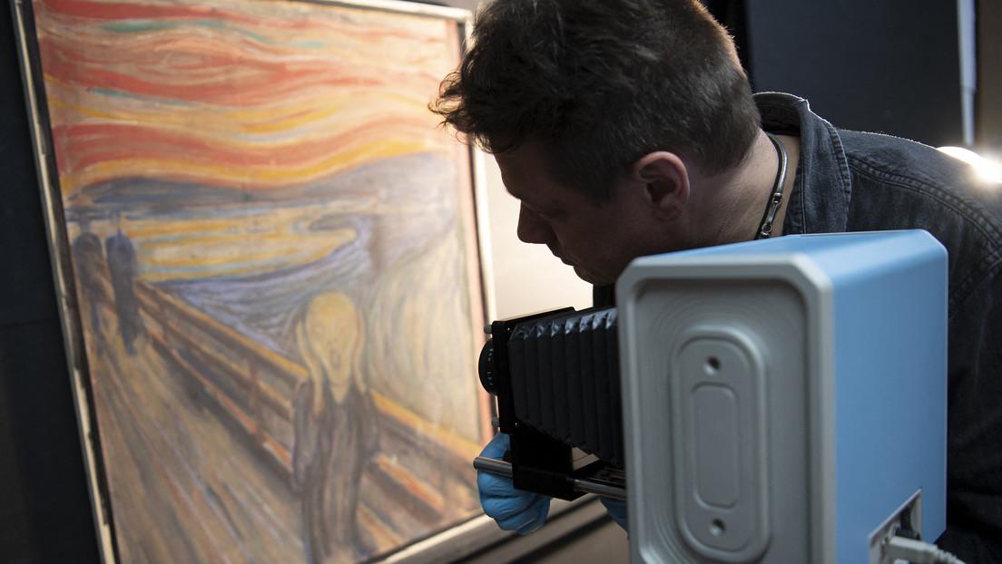 Resuelven el enigma de la inscripción hecha en 'El grito' de Edvard Munch