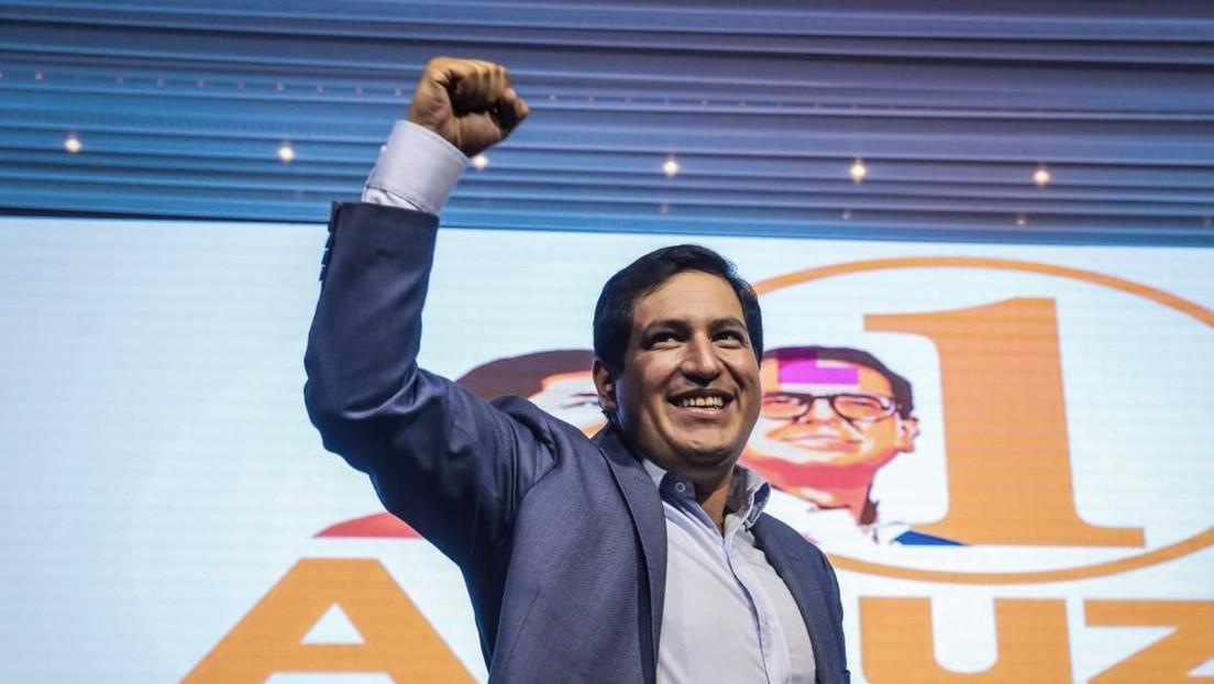 """""""La democracia de Ecuador está siendo atacada"""": La Internacional Progresista denuncia una campaña sucia para sacar a Arauz de la contienda electoral"""