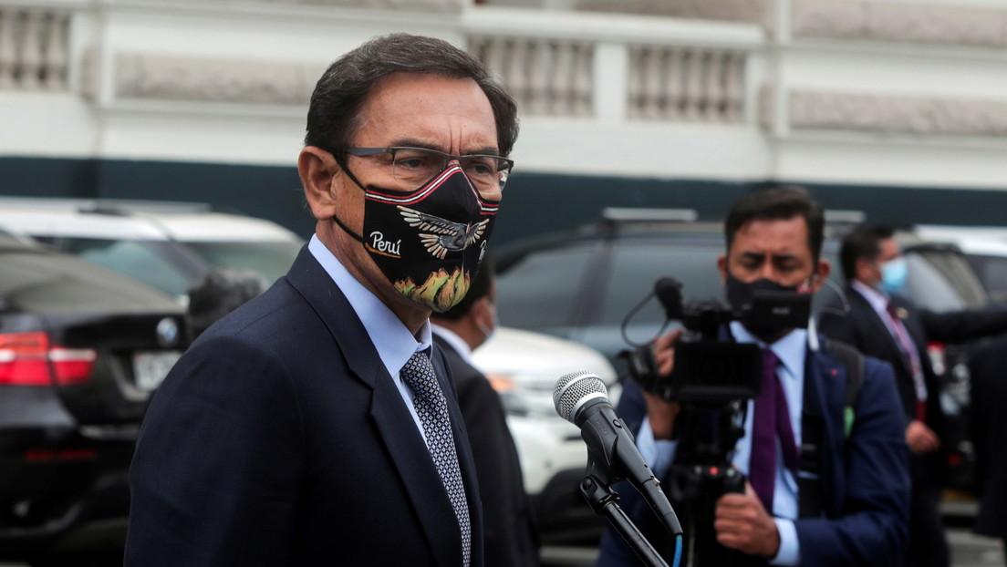 Piden al expresidente Martín Vizcarra que se aparte de Somos Perú por el 'vacunagate'