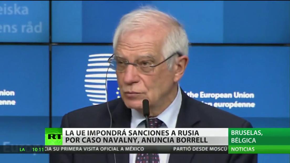 La UE acuerda ampliar las sanciones contra Rusia
