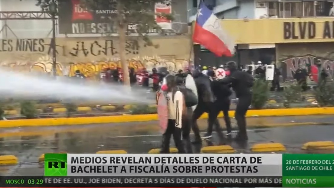 Medios chilenos revelan detalles de una carta de Michelle Bachelet a la Fiscalía sobre las protestas de 2019