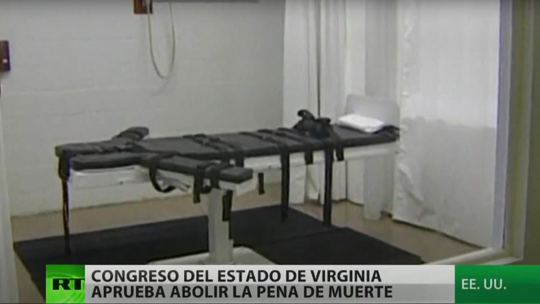 Virginia extiende hacia el sur de EE.UU. la abolición de la pena de muerte