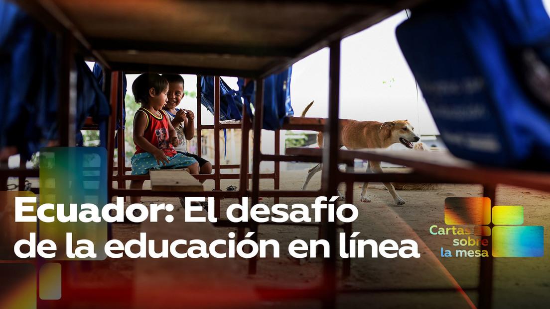Ecuador: El desafío de la educación en línea