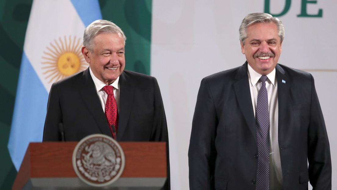 """López Obrador y Alberto Fernández presionan contra el acaparamiento de las vacunas y quieren que el G20 las declare """"bien global"""""""