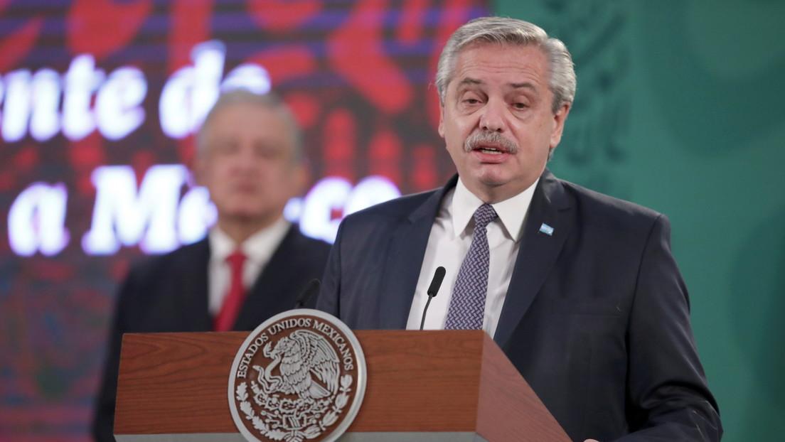"""Fernández reitera su condena a las """"vacunas VIP"""" y recuerda la """"campaña despiadada"""" que la oposición hizo en contra de la Sputnik V"""