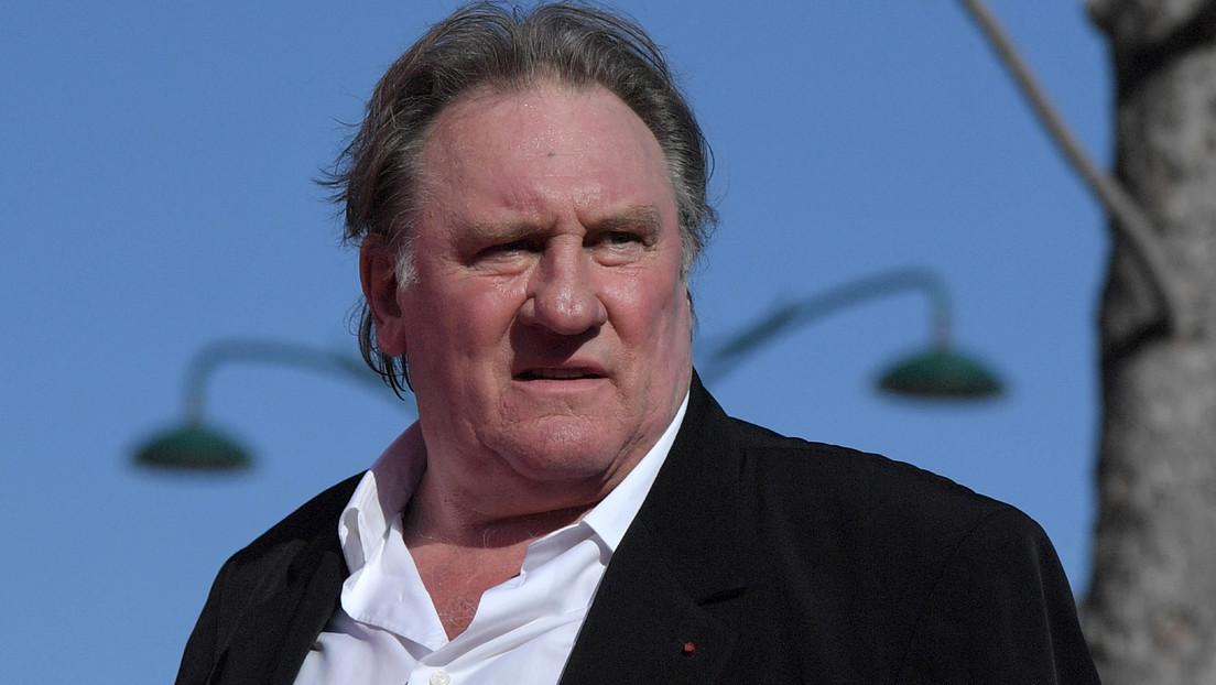 Reportan que el actor francés Gérard Depardieu fue acusado de violación