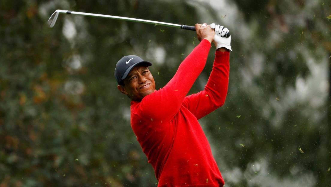 El golfista Tiger Woods es hospitalizado tras un serio accidente automovilístico en Los Ángeles