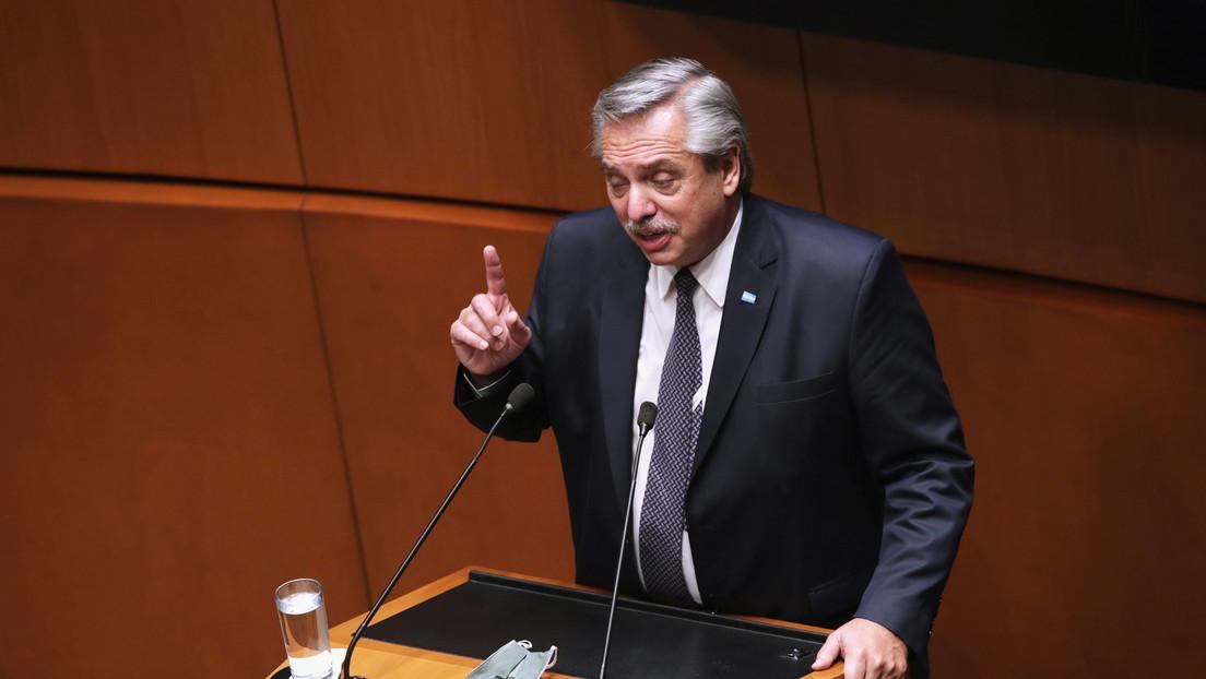 """""""Hagamos de América Latina el continente de la igualdad"""": el llamado de Alberto Fernández en la sesión solemne del Senado de México"""