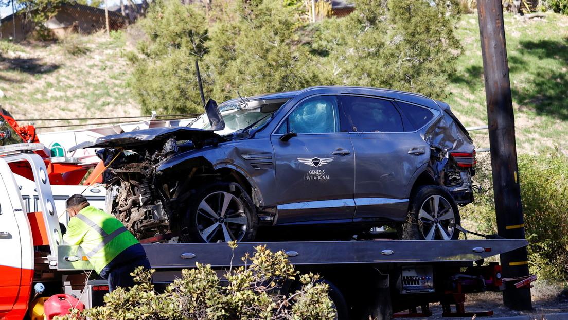 No encuentran evidencia de que Tiger Woods estuviera bajo los efectos de alcohol o drogas en el momento de su accidente automovilístico