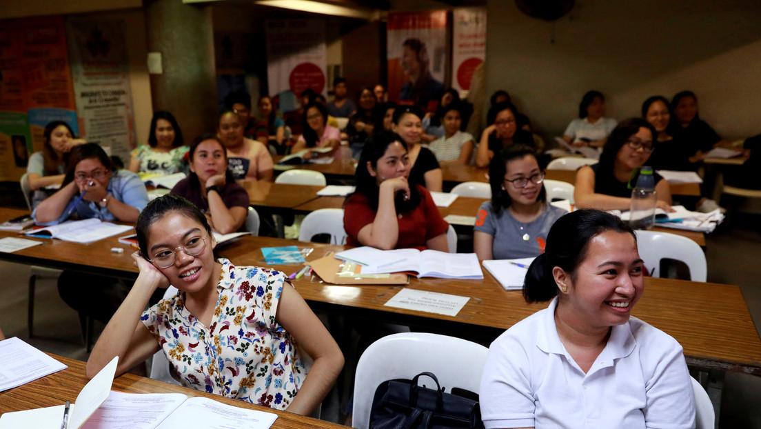 Filipinas ofrece sus enfermeras al Reino Unido y Alemania a cambio de vacunas contra el covid-19