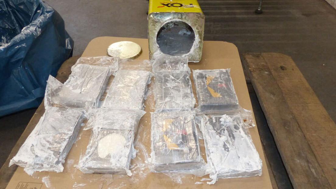 Incautan en Alemania 16 toneladas de cocaína, el mayor hallazgo jamás realizado en Europa, que vale miles de millones de dólares