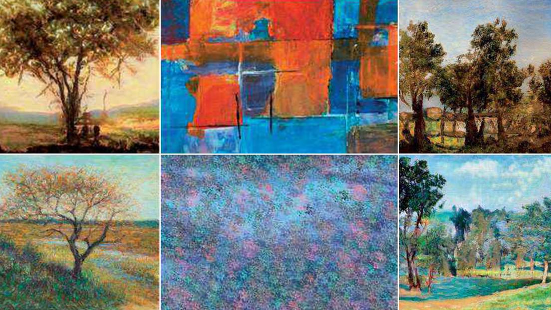 La inteligencia artificial ya puede crear obras que no se distinguen de las piezas realizadas por pintores