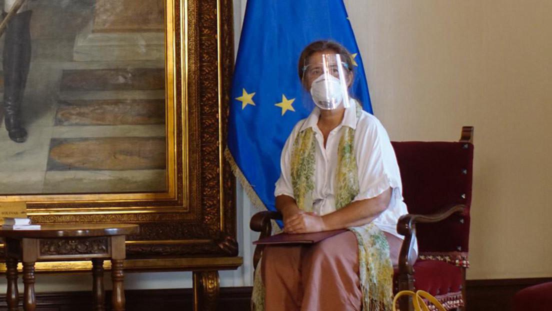 Venezuela expulsa a la embajadora de la UE y le da 72 horas para abandonar el país