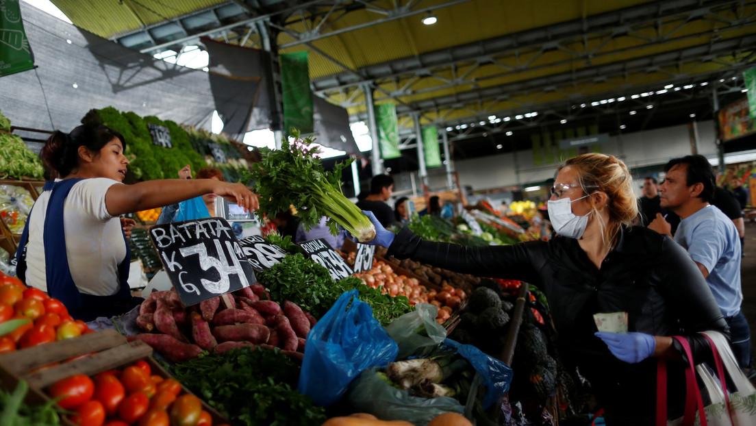 La actividad económica de Argentina cayó 10 % en 2020 por la pandemia, el peor desplome desde 2002