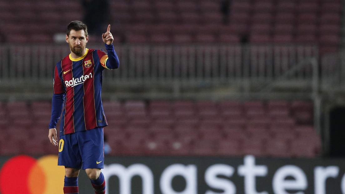 Dos goles y una asistencia: noche de ensueño para Messi en la victoria 3-0 ante el Elche que lo deja como goleador y despierta al Barça en La Liga