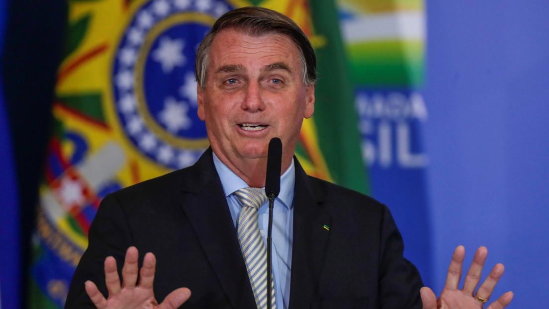 VIDEO: Bolsonaro corta en seco una entrevista tras una pregunta sobre la investigación a su hijo por presunta corrupción