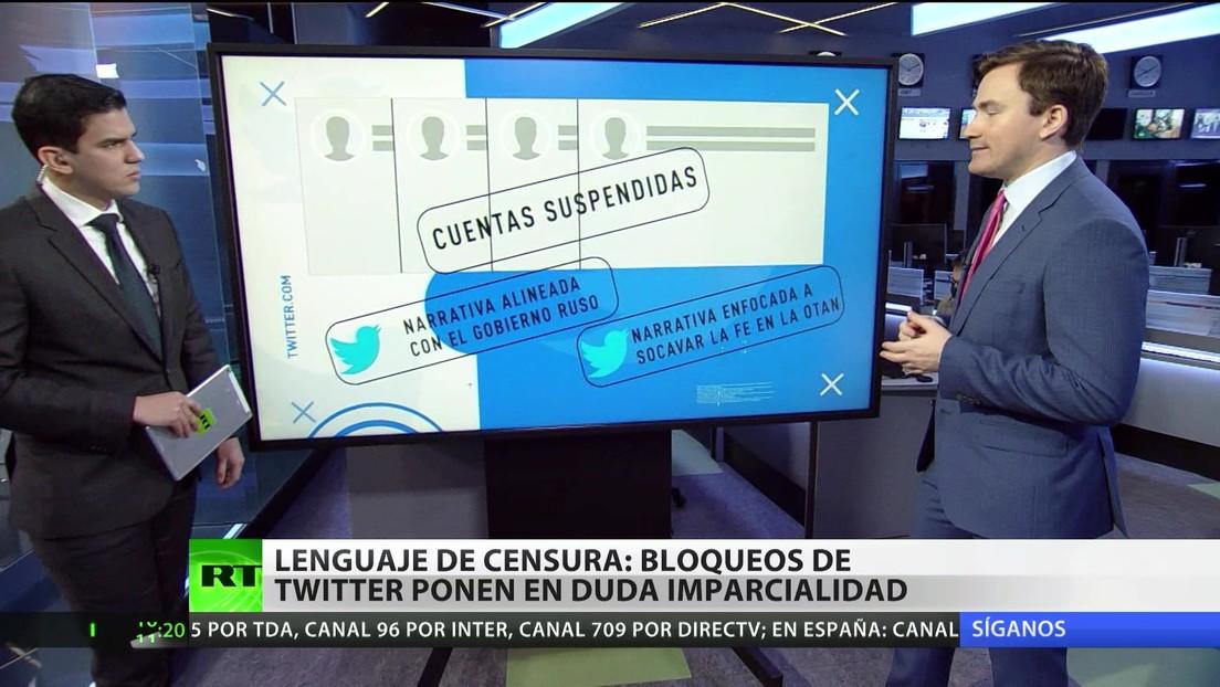 Lenguaje de censura: bloqueos en Twitter arrojan dudas sobre su imparcialidad