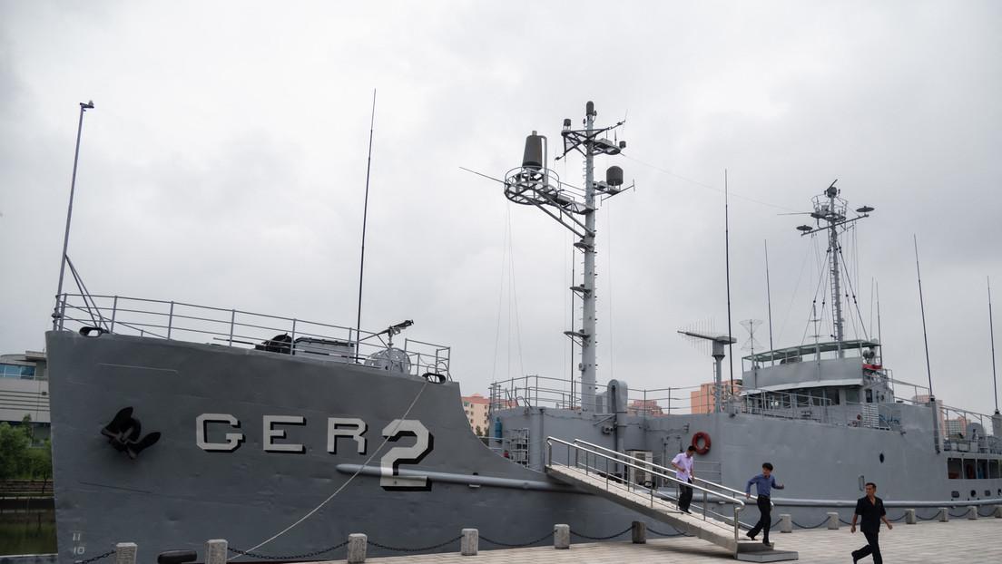 Un tribunal de EE.UU. ordena a Corea del Norte pagar 2.300 millones de dólares a los tripulantes del USS Pueblo, secuestrado hace medio siglo