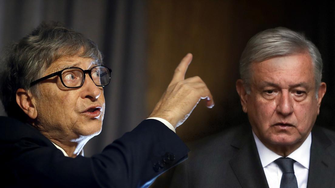 """El consejo de Bill Gates a López Obrador para desarrollar México: """"Es mucho más importante que sacar petróleo"""""""