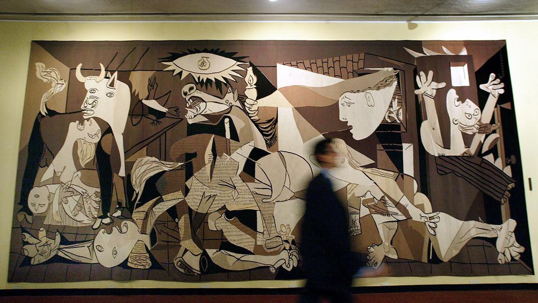 La ONU retira un icónico tapiz del 'Guernica' de Picasso que adornó por 35 años su sede principal en Nueva York
