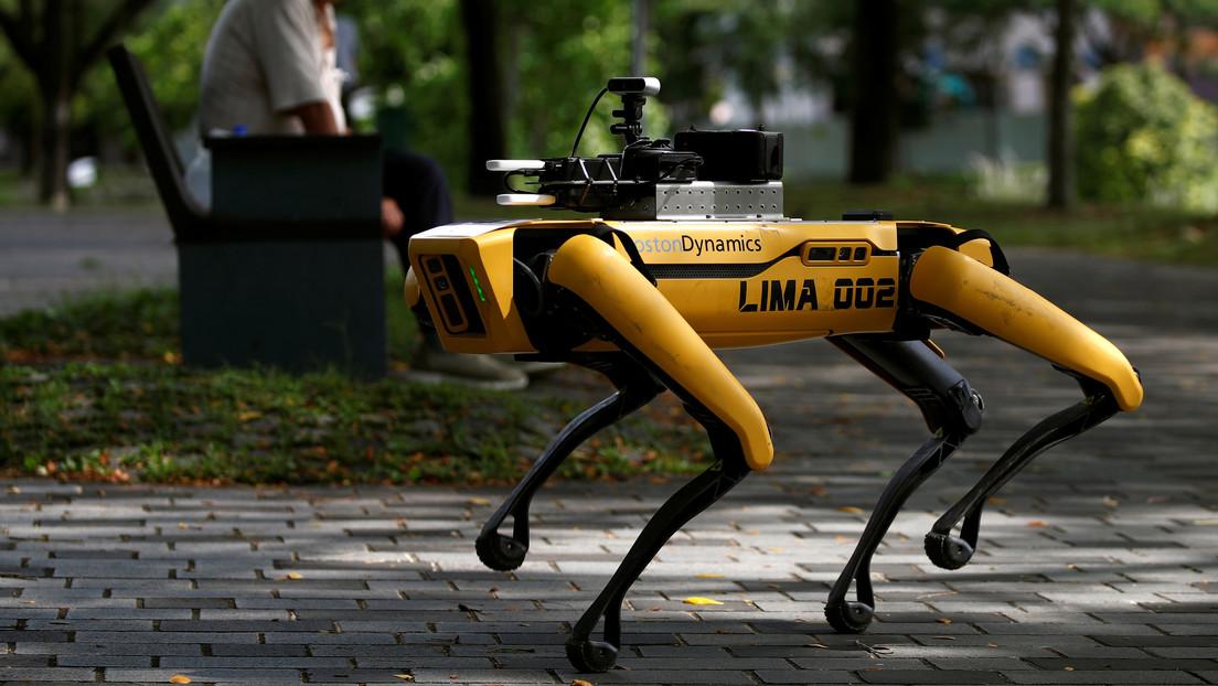 VIDEO: Perro robótico participa en un despliegue policial en Nueva York