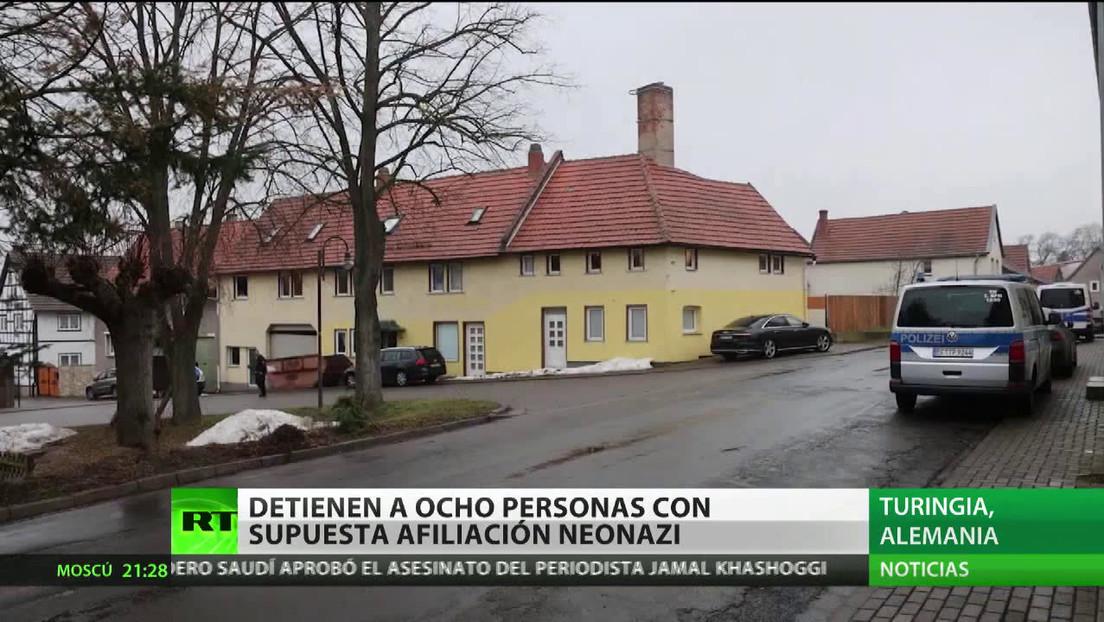 Detienen a ocho personas por supuesta afiliación neonazi en Alemania