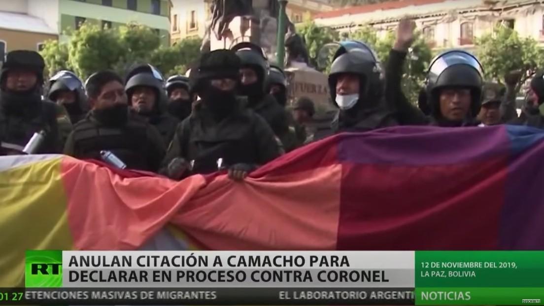 Anulan en Bolivia citación a Luis Fernando Camacho para declarar en el proceso contra excomandante de la Policía por el golpe de Estado de 2019