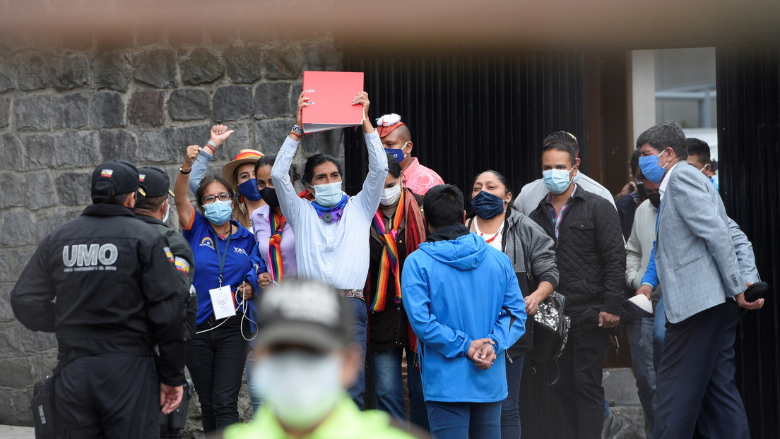 El Consejo Nacional Electoral de Ecuador niega pedido de Yaku Pérez sobre la declaratoria de nulidad de los escrutinios