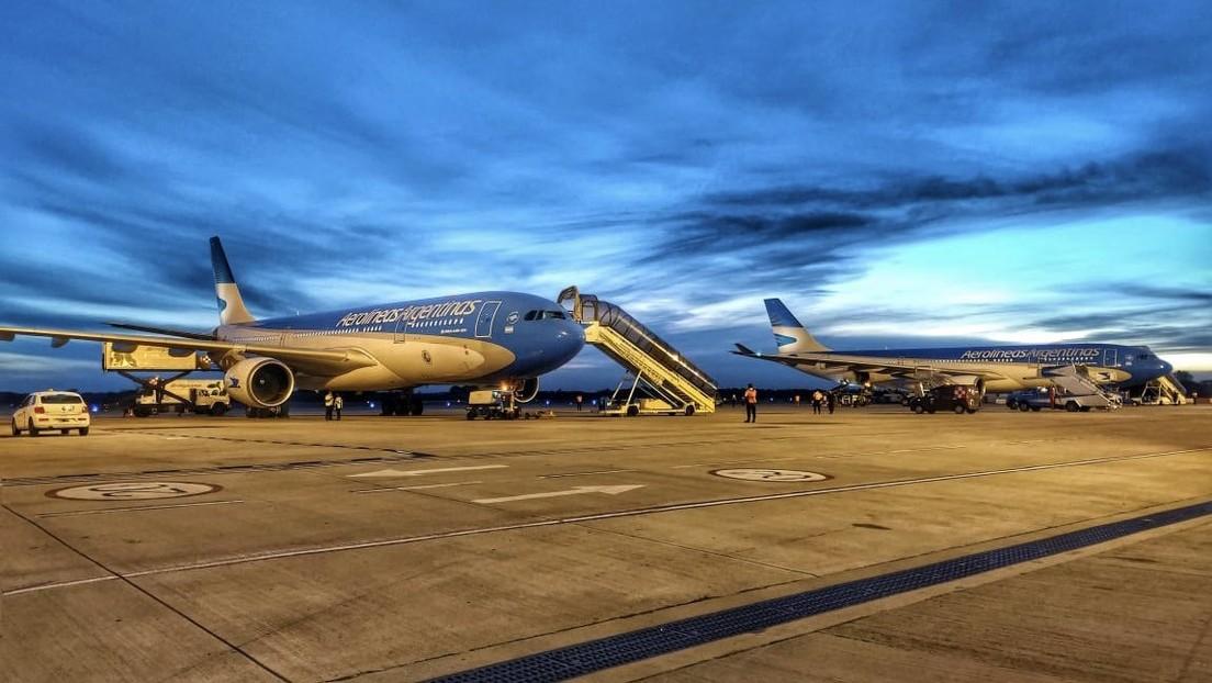 Parten dos nuevos vuelos desde Buenos Aires a Moscú para trasladar a Argentina más dosis de la vacuna Sputnik V