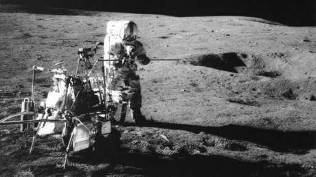 Encuentran en las imágenes de la Luna la bola de golf que golpeó el primer astronauta de EE.UU. hace 50 años