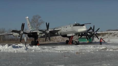 VIDEO: Un bombardero de la tríada nuclear rusa sobrevuela el Lejano Oriente durante un entrenamiento