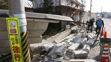 Aumenta a 124 el número de heridos por el terremoto de 7,1 en Japón