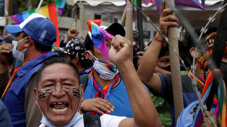 Indígenas ecuatorianos inician marcha nacional hacia Quito para exigir el recuento de los votos de las presidenciales