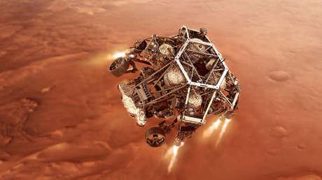 """""""Siete minutos de terror"""": El róver Perseverance de la NASA, a punto de aterrizar en Marte en búsqueda de vida"""