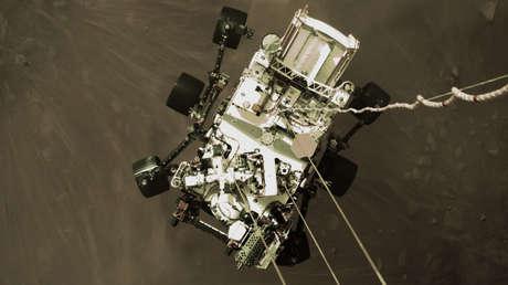 EN VIVO: La NASA comparte el primer video del róver Perseverance aterrizando en Marte