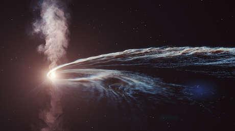 Detectan una partícula 'fantasma' procedente de una estrella destruida por un agujero negro