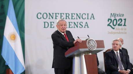 """López Obrador, sobre la iniciativa Covax para garantizar el acceso a las vacunas: """"La ONU parece un florero, está de adorno"""""""