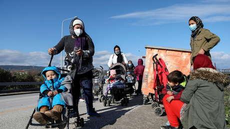 Una migrante afgana embarazada de ocho meses se prende fuego al denegársele su traslado a Alemania