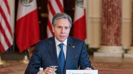 El secretario de Estado de EE.UU. dialoga con el canciller de México sobre migración y desarrollo en Centroamérica