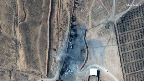 VIDEO: Así se quedó el lugar atacado por EE.UU. en el este de Siria