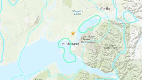 Se registra un sismo de magnitud 5,3 en Alaska