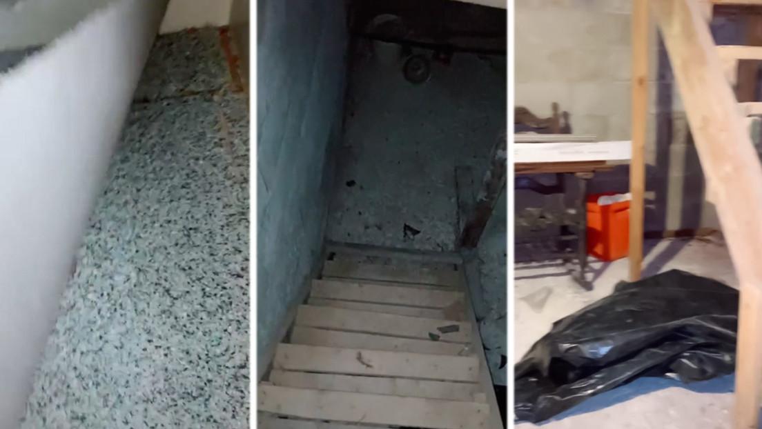 VIDEO: Una mujer descubre un sótano secreto en su casa al levantar una vieja alfombra